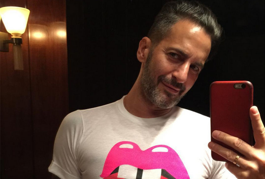 Marc Jacobs responds hilariously to reports of a 10-man orgy
