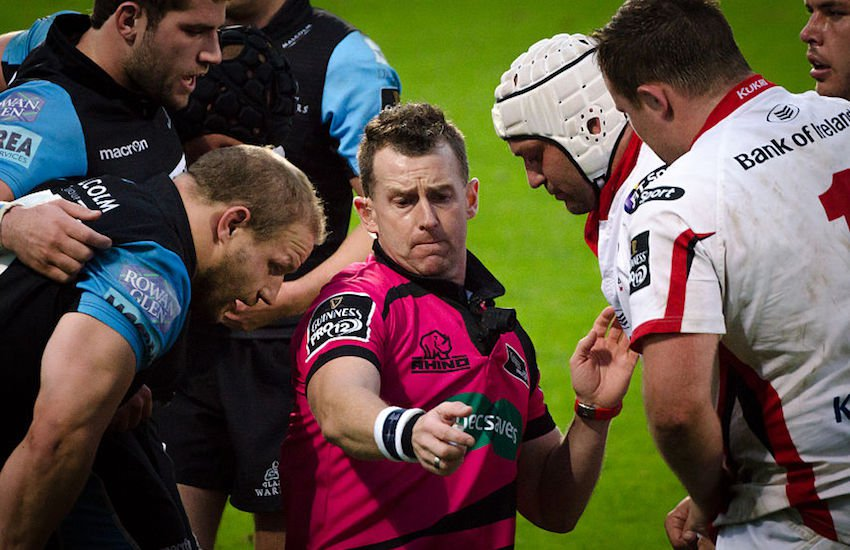 Nigel Owens will referee the Rugby World Cup final