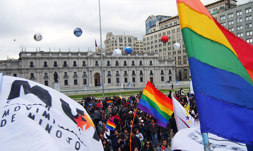 Santiago is showing its Pride as civil union law comes into force