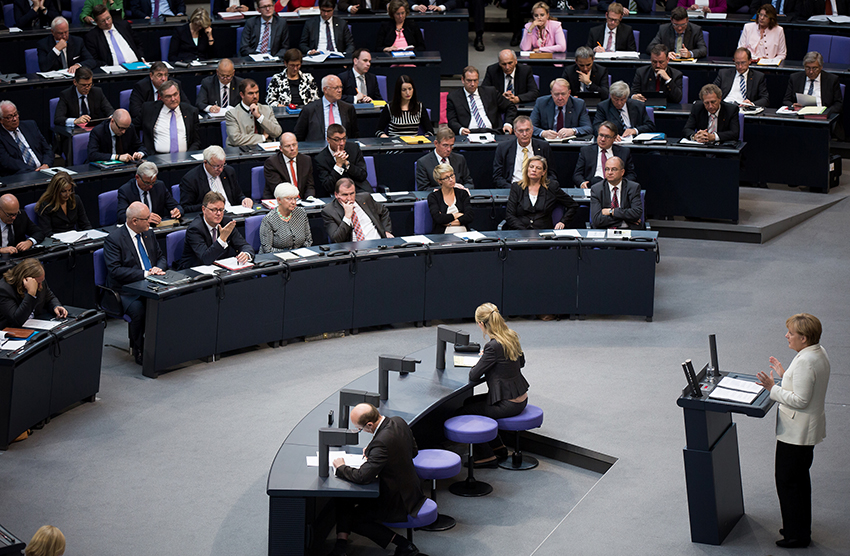 The Bundestag debated the new law for more than a year.