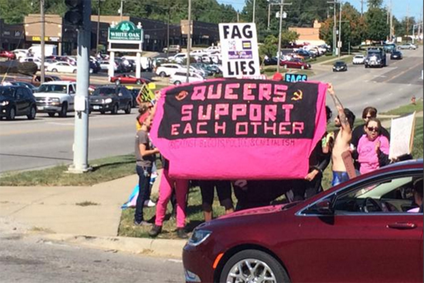The Westboro Baptist Church were run out of town by high school students