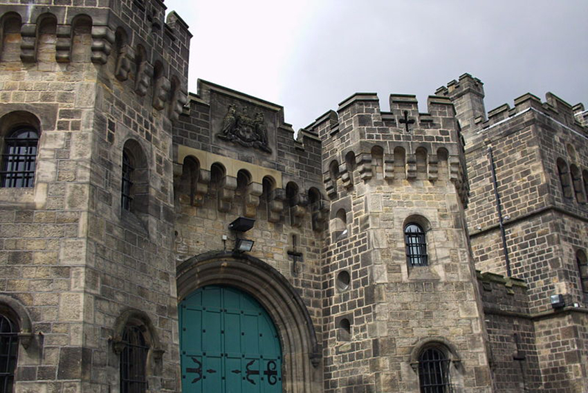 HM Prison Leeds, where Vicky Thompson was found dead.