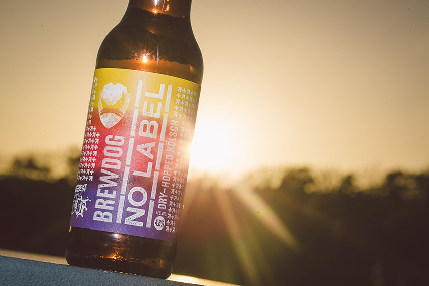 'No Label' is BrewDog's 'transgender' beer