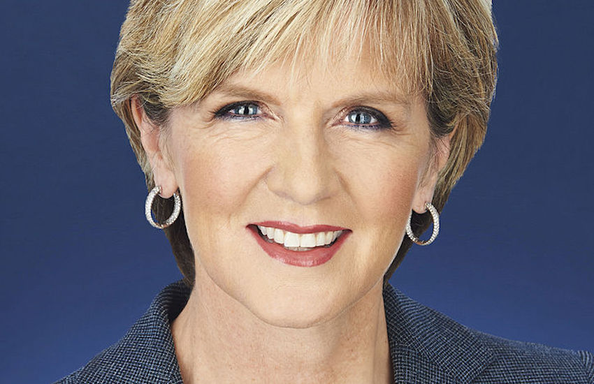 Australian Foreign Minister Julie Bishop previously declined to share her personal views on gay marriage.