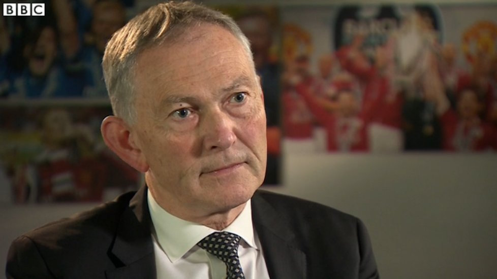 Richard Scudamore says he is 'absolutely sure' there are gay players in the world's most popular sports league.