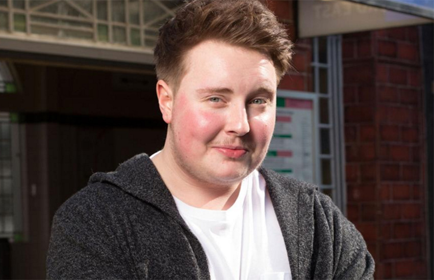 Riley Carter Millington is the first trans actor to play a continuously appearing trans character on British TV.