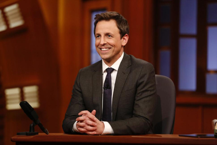 Seth Meyers began hosting NBC's Late Night in 2014