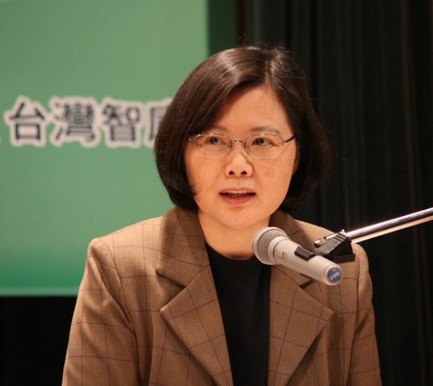 Tsai Ing-wen is widely expected to become Taiwan's first female president in January.