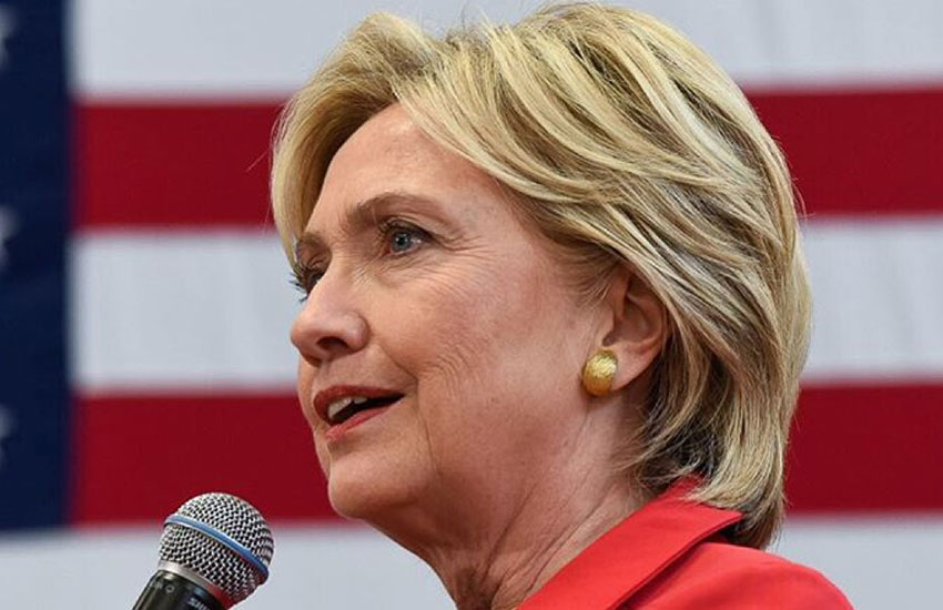 Hillary Clinton is the first female presidential nominee of a major party in the US.