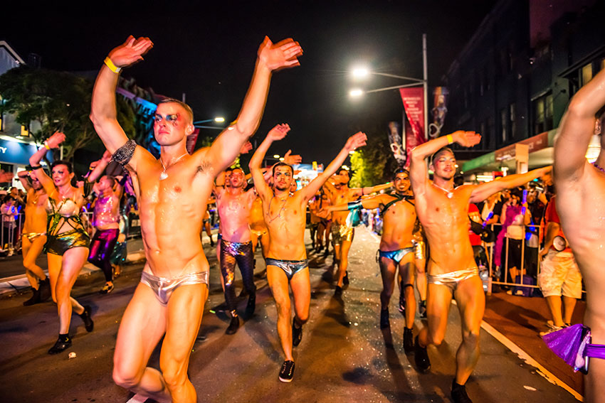 Sydney Gay and Lesbian Mardi Gras was attended by over 400,000 people