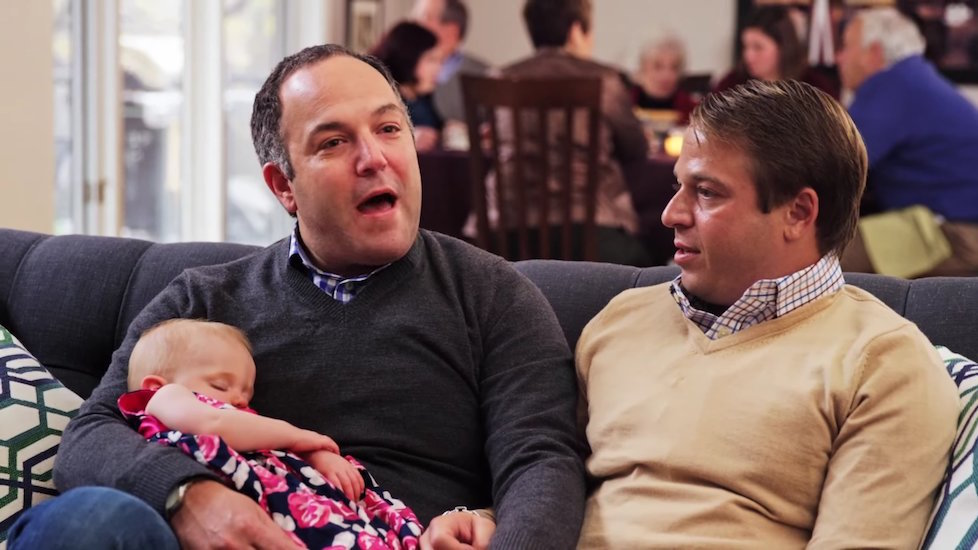 'A year ago, we didn't even know we were going to be parents'