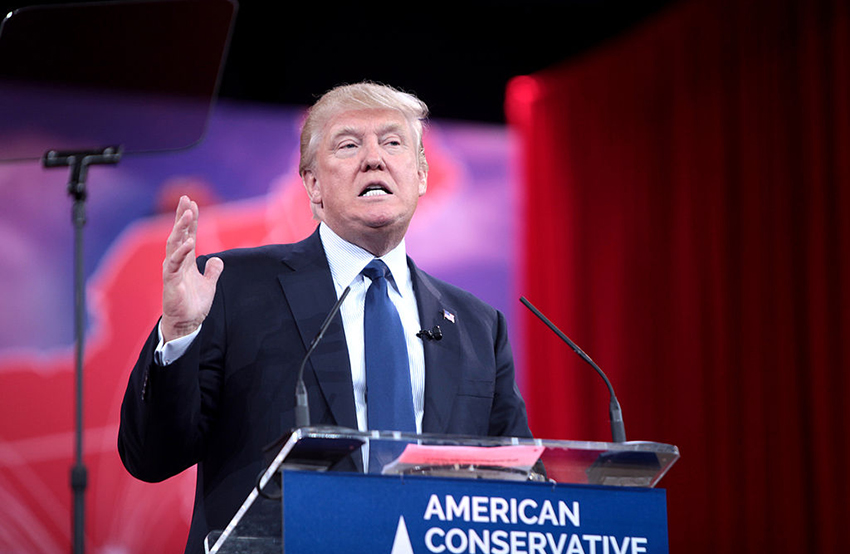 Donald Trump declines to say if he opposes. or supports, marriage equality