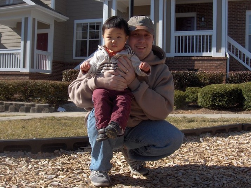 Eric Cooper was stabbed 100 times and his son, Cooper Chen, had his throat slit.