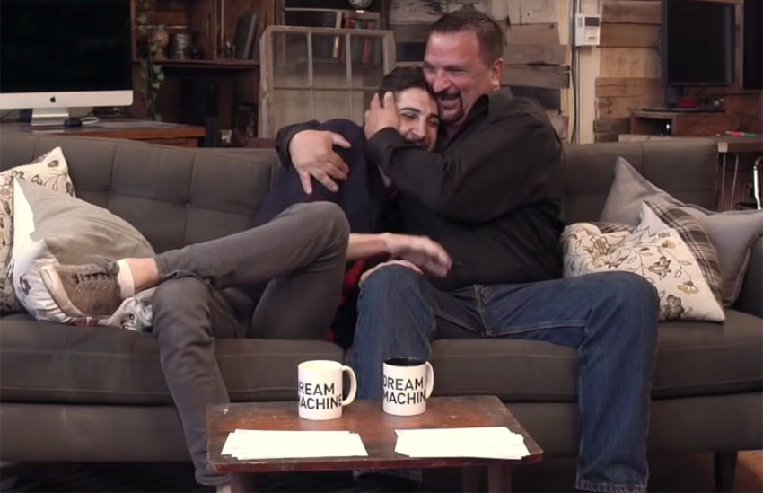 Dads reveal the moment they knew their kids were gay