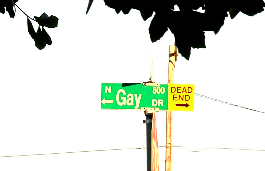 Residents try to get rid of 'Gay Drive'