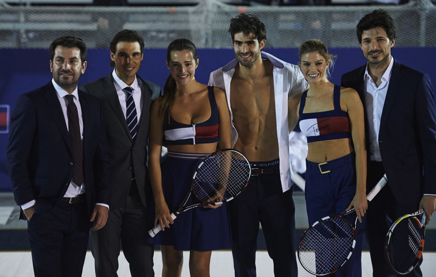 Tommy Hilfiger promotional event, in Madrid, featuring tennis pro Rafael Nadal