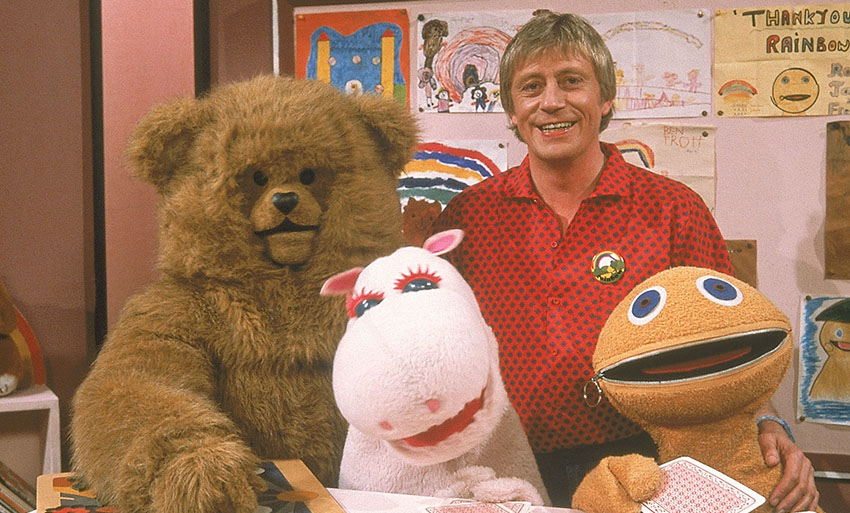Rainbow ran on ITV for 20 years