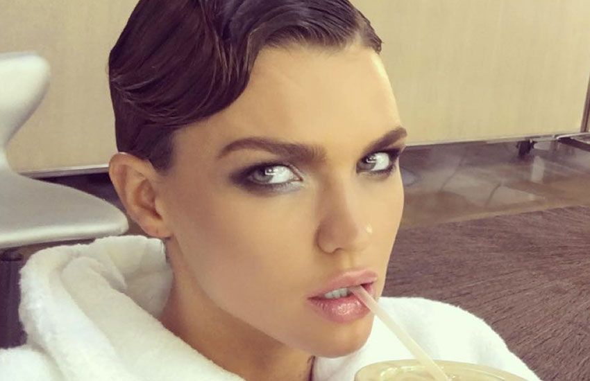 Ruby Rose is a gay, gender-fluid model who can't turn anyone
