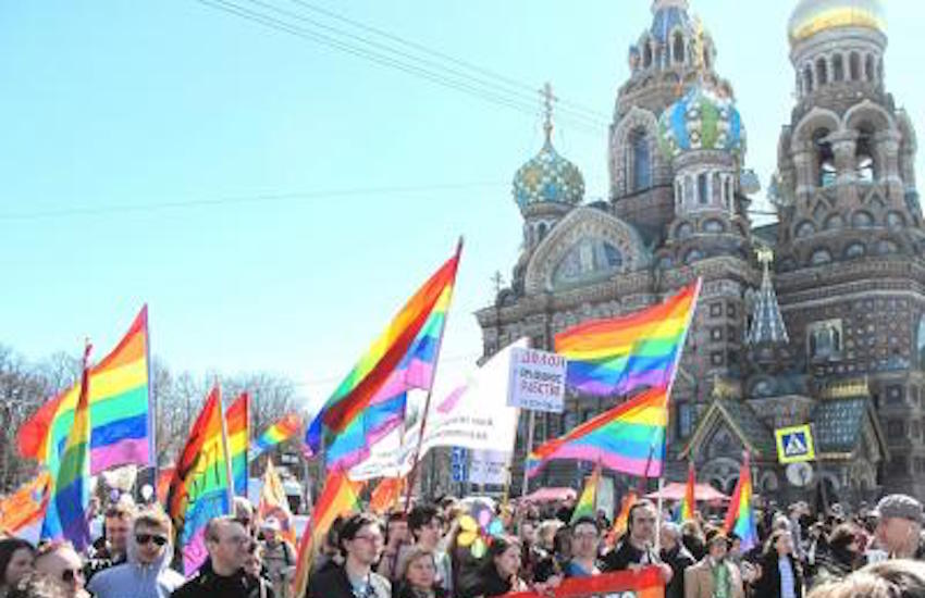 Russian city allowed a Pride march, and then didn't