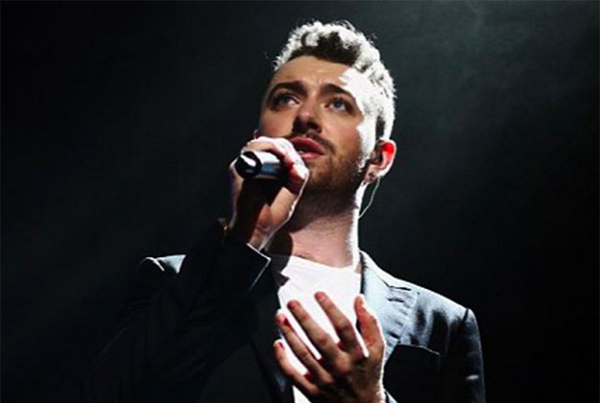 Sam Smith says it's 'all downhill from here'