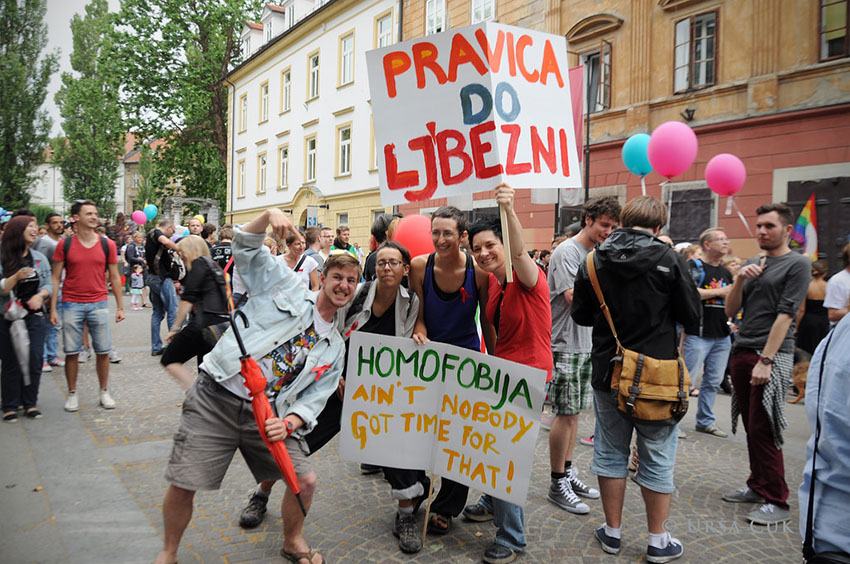 Slovenia Pride celebrated same-sex marriage