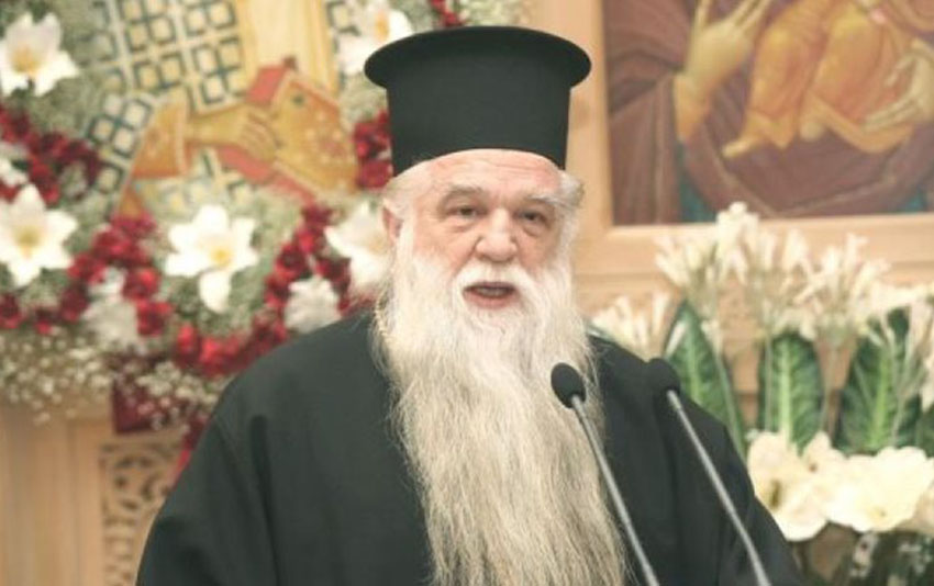 This Greek Orthodox preacher wants Christians to 'spit' on gay people