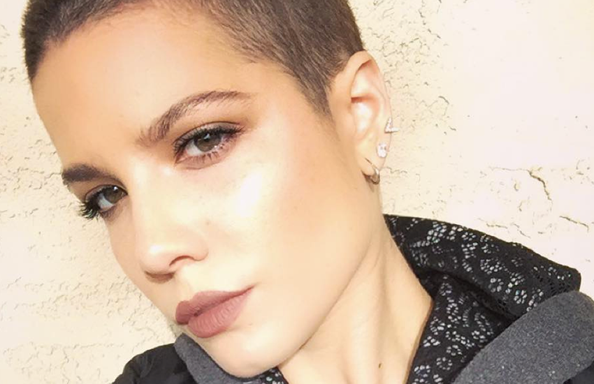 Singer Halsey is known for tracks including Ghost and New Americana