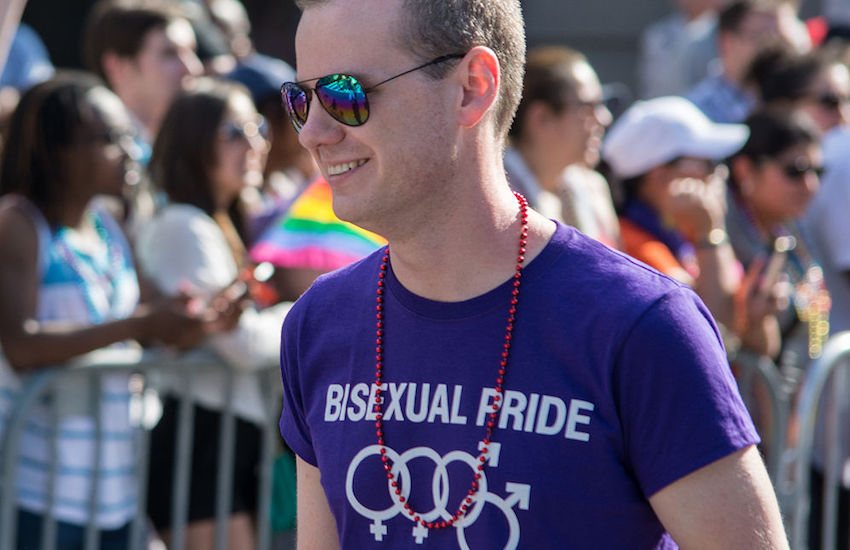 5.5% of American women and 2% of men identify as bisexual.