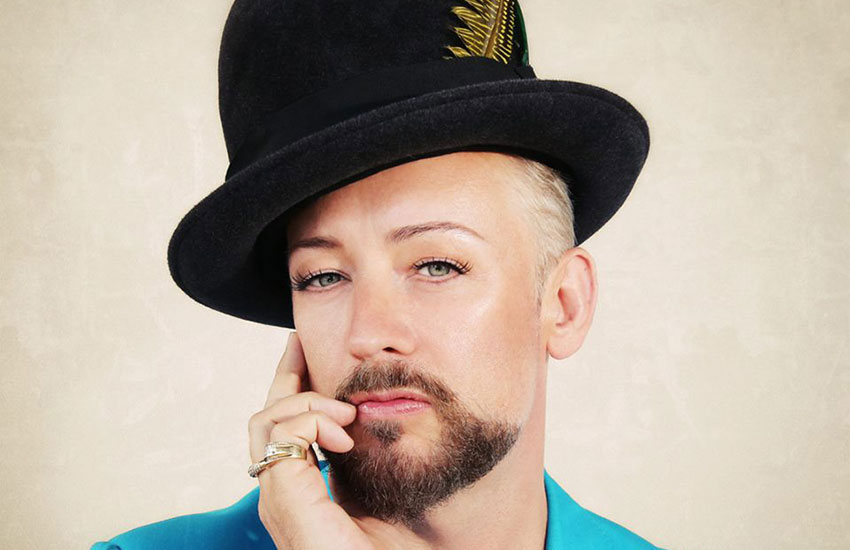Boy George rose to fame as lead singer of Culture Club.
