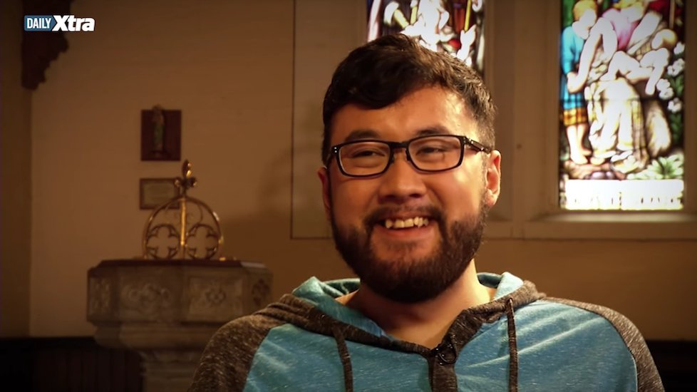 Christopher Ong says he wants to start a discussion about homosexuality in the church.