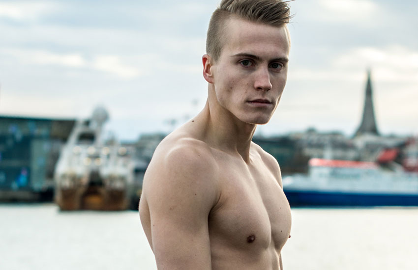 The third issue of Elska magazine features cute guys based in Reykjavik