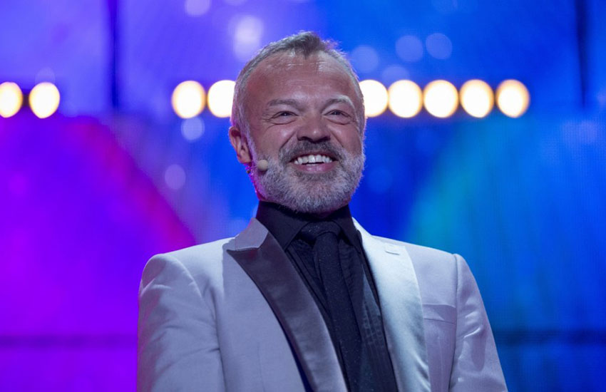Openly gay chat show host Graham Norton.