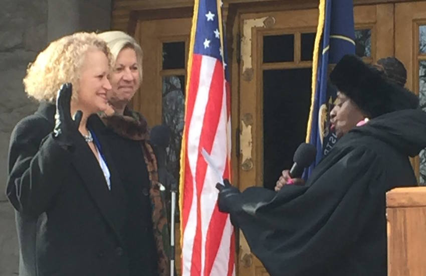 Jackie Biskupski is the country's only lesbian mayor of a large city.