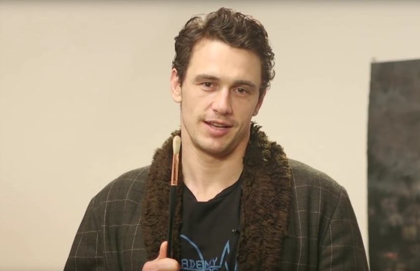 James Franco starred this year in the gay porn murder movie King Cobra.