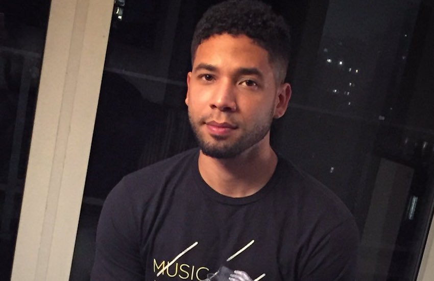 Jussie Smollett interrupted his performance at the 2015 BET Awards to speak out about the Supreme Court's landmark decision legalizing gay marriage.