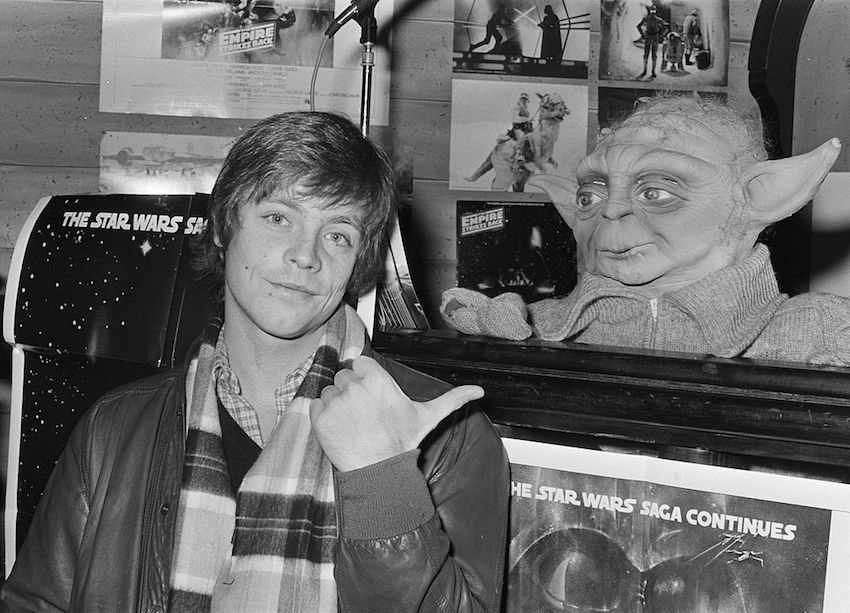 Mark Hamill played Luke Skywalker in the original Star Wars trilogy.