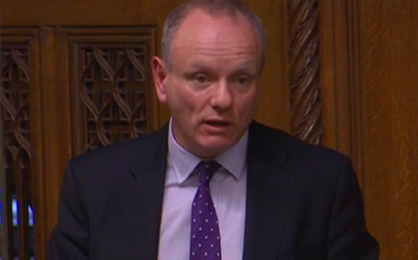 Mike Freer defends using poppers in the House of Commons