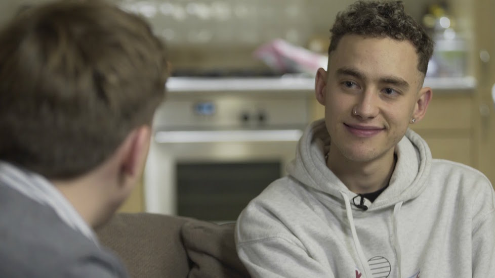 Olly Alexander said he now sees his mental health 'in a positive way.'