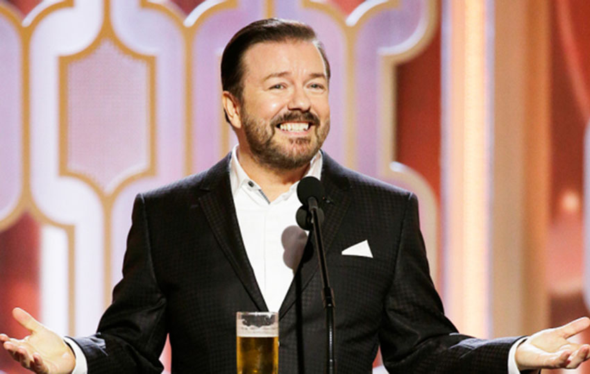 Ricky Gervais defends his Caitlyn Jenner jokes from the Golden Globes
