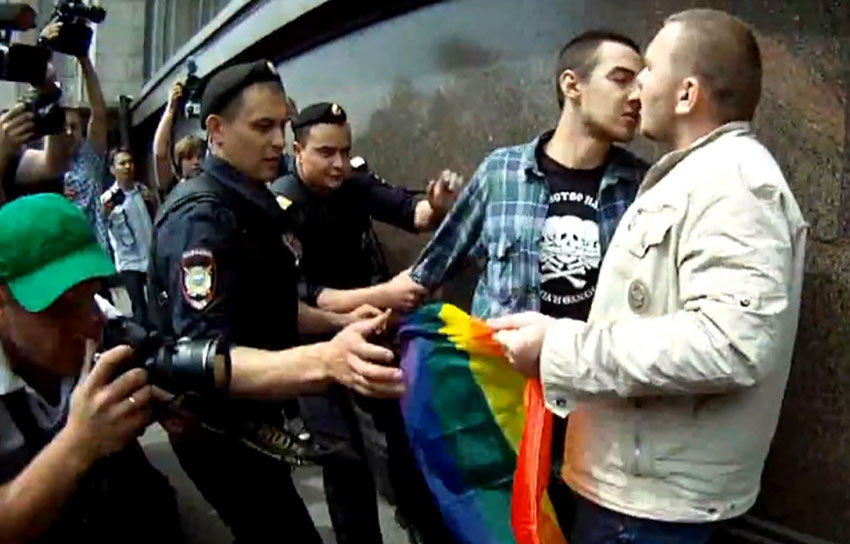 Russia gays will protest despite homophobic laws