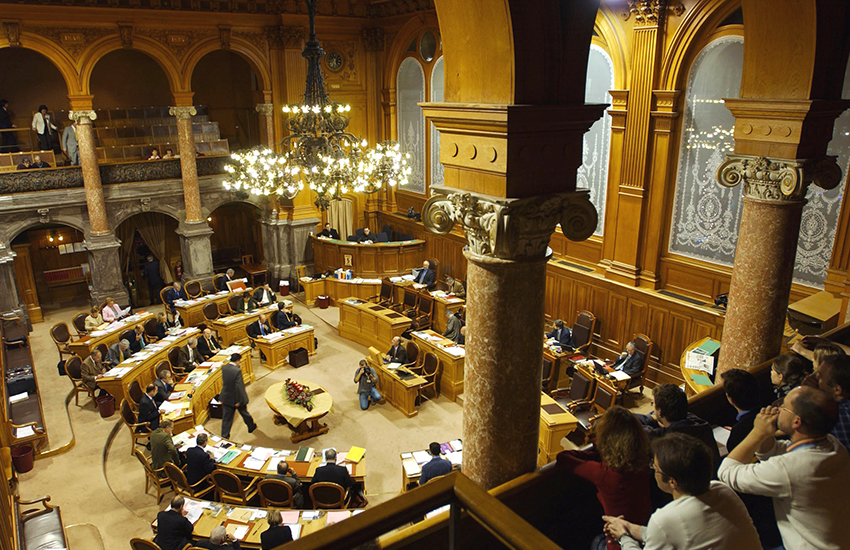 Switzerland's Council of States has voted in favor of allowing same-sex couples to adopt.