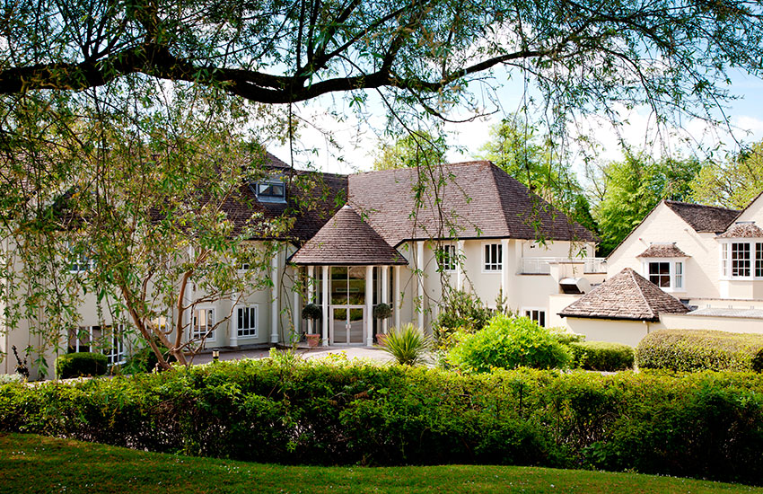 Sudbury House Hotel is immersed in nine acres of impeccably-manicured grounds