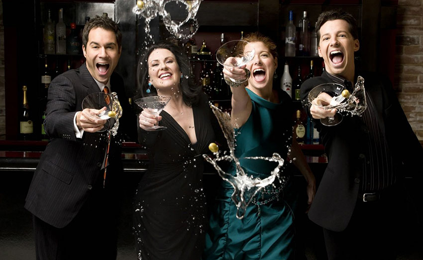 Will & Grace cast reunite 10 years after show ends