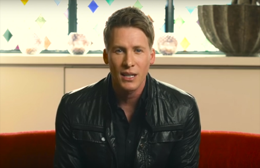 Screenwriter and producer Dustin Lance Black