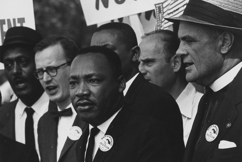 MLK on the Civil Rights March on Washington DC.
