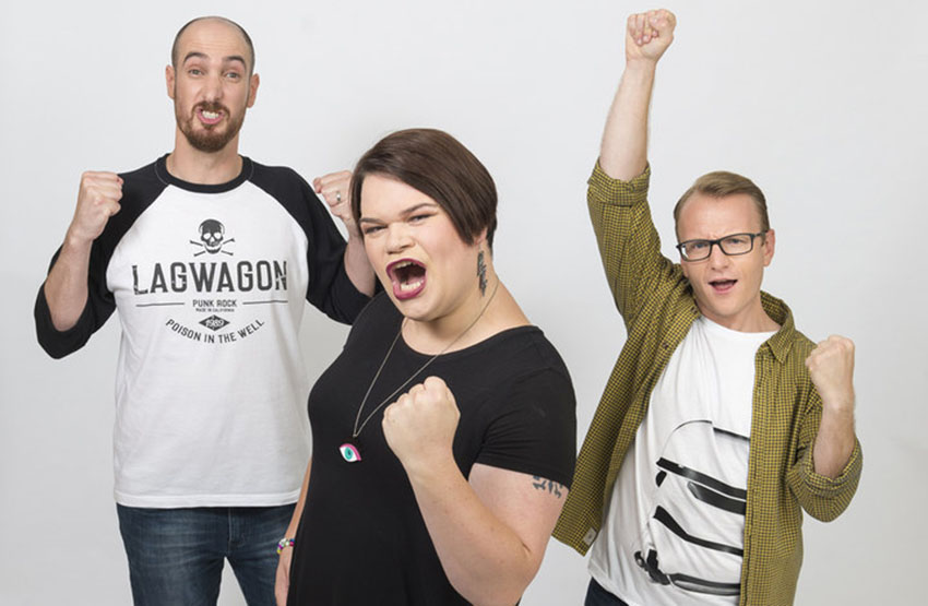 Axis of Awesome lead singer comes out as trans