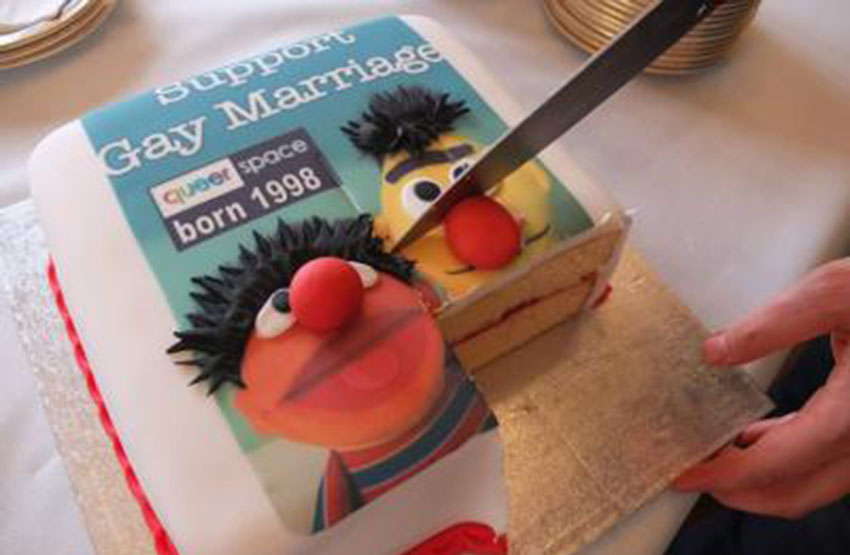 All a customer wanted was a Bert and Ernie cake