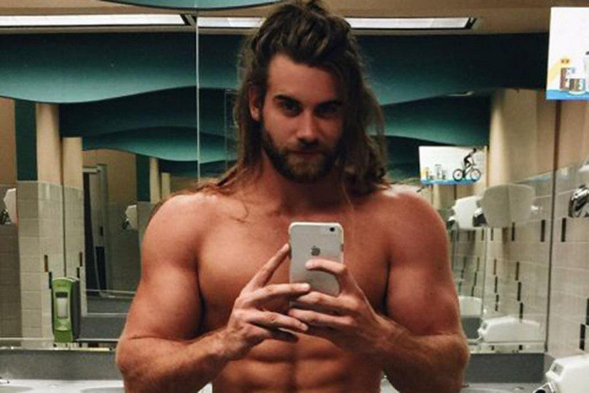 Model and fitness trainer Brock O'Hurn has 1.7 followers on Instagram