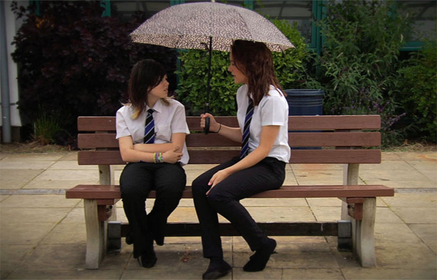 This is a lesbian drama made by Catholic students