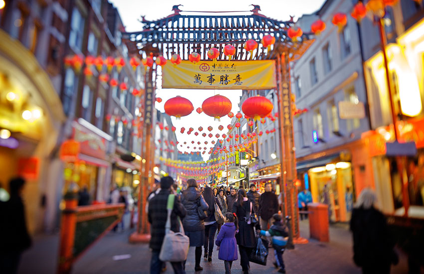 Many people don't realize that Soho was not the original location of London's Chinatown